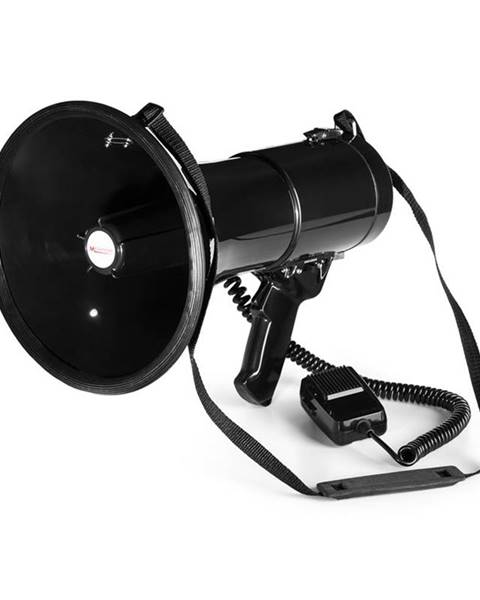 Auna Auna 80W megafon MEGA080 700m, černá barva