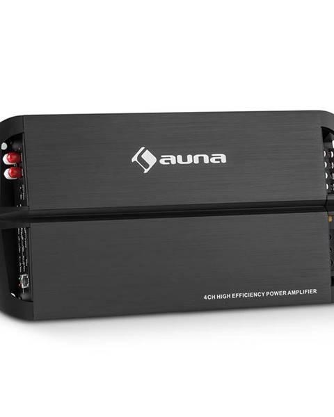 Auna Auna AMP490BK, 4 kanálový auto zesilovač, 360 W, třída A/B, zesilovač, dálkové ovládání