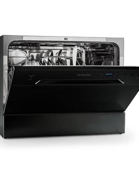 Klarstein Klarstein Amazonia 6, 1380 W, stolní myčka nádobí třída A +, 49 dB, černá