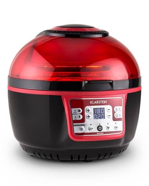 Klarstein Klarstein VitAir Turbo, 1400W, 9 l, horkovzdušná fritéza, grilování, pečení, červeno-černá