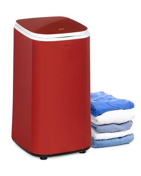 Klarstein Klarstein Zap Dry, sušička prádla, 820 W, 50 l, dotykový ovládací panel, LED displej, červená