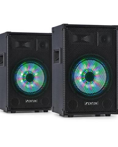 "Fenton TL10LED, pár 3-cestných pasivních reproduktorů, RGB-LED, 10"" woofer, 500 W Tweeter"