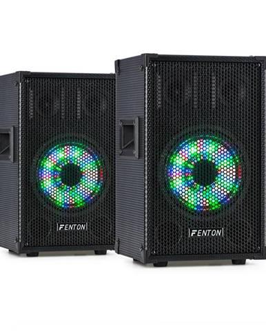 """Fenton TL8LED, sada zařízení, 2x 3pásmový pasivní reproduktor, RGB LED, 8"""" woofer, 400 W"""