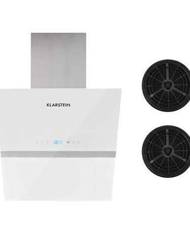 Klarstein Aurea VII, odsavač par, set filtrů s aktivním uhlím, 60 cm, bílá barva