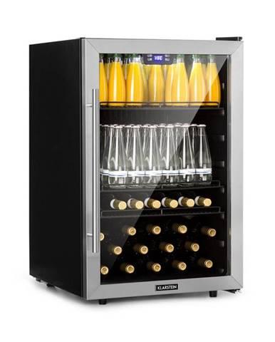 Klarstein Beersafe XXL, chladnička na nápoje, 148 l, A +, sklo, ušlechtilá ocel