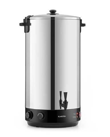 Klarstein KonfiStar 60, zavařovací hrnec, automat na teplé nápoje, 2500 W, 60 l, 110 °C, 120 min., ušlechtilá ocel