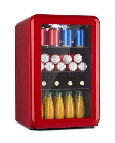 Klarstein PopLife 65L, chladnička na nápoje, chladnička, 70 litrů, 0-10 °C, retro design