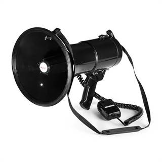 Auna 80W megafon MEGA080 700m, černá barva