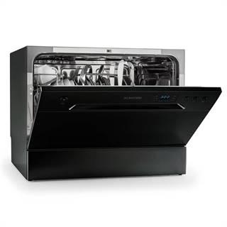 Klarstein Amazonia 6, 1380 W, stolní myčka nádobí třída A +, 49 dB, černá