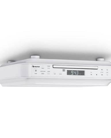 Auna KRCD-100 BT kuchyňské rádio na zabudování, CD, MP3, rádio, bílá barva