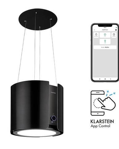 Klarstein Skyfall Smart, ostůvková digestoř, Ø 45 cm, recirkulace, 402 m³/h, LED, zlatá
