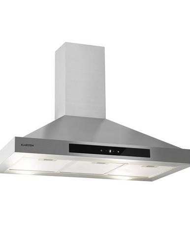 Klarstein Zelda 90, digestoř, 210 W, 3 stupně, 650 m³/h, LED, energetická třída B, ušlechtilá ocel