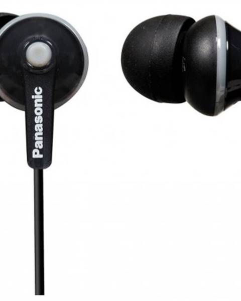 Panasonic Špuntová sluchátka sluchátka panasonic rp-hje125e-k
