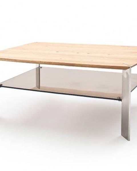 MC AKCENT Konfereční stolek - dřevěný konferenční stolek harla - 120x41x70