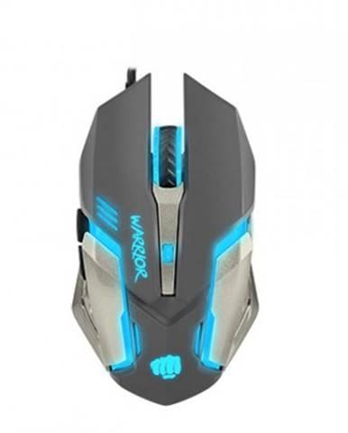 Drátové myši herní optická myš fury warrior. 3200 dpi, černá