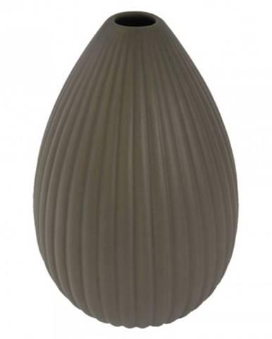 Keramická váza vk36 hnědá matná