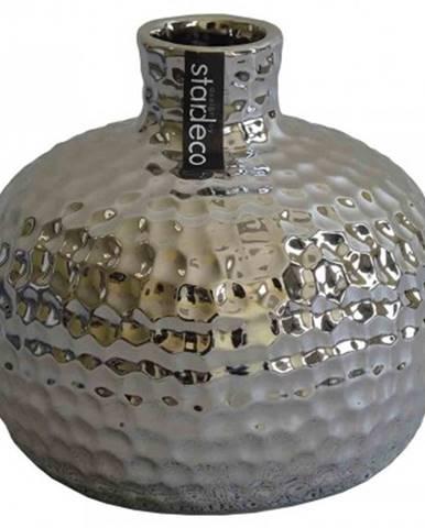 Keramická váza vk55 stříbrná
