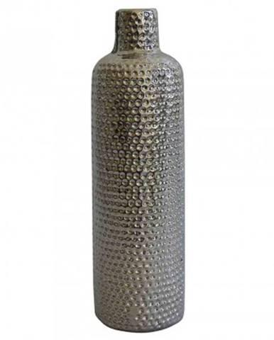 Keramická váza vk56 stříbrná