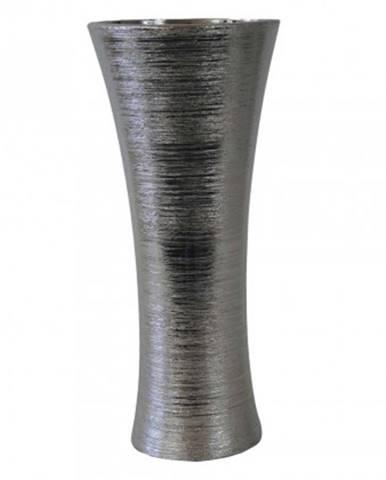 Keramická váza vk64 stříbrná