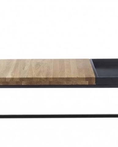 Konfereční stolek - dřevěný konferenční stolek dorset