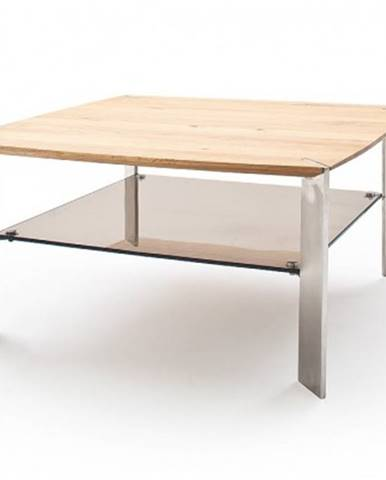Konfereční stolek - dřevěný konferenční stolek harla - 80x41x80