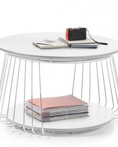 Konfereční stolek - dřevěný konferenční stolek selvan - 70x42x70