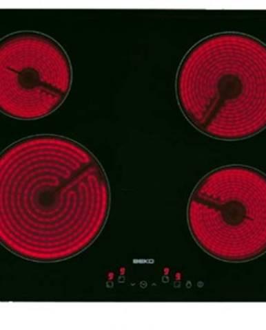 Sklokeramická deska sklokeramická varná deska beko hic 64401