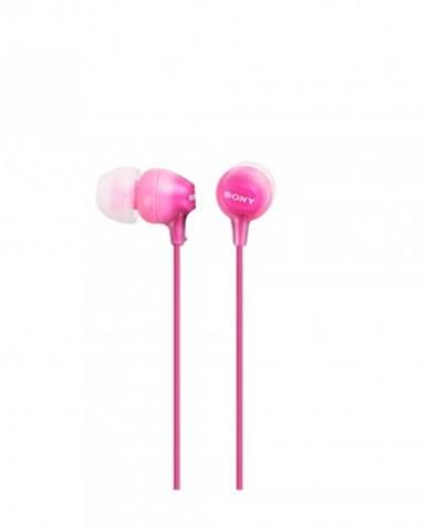 Sony sluchátka mdr-ex15ap růžová