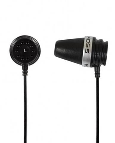 Špuntová sluchátka koss spark plug black