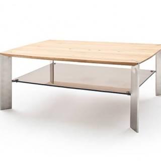 Konfereční stolek - dřevěný konferenční stolek harla - 120x41x70
