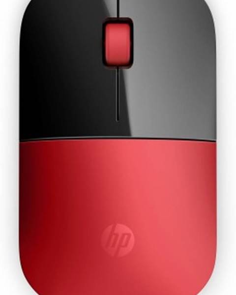 HP Bezdrátové myši hp z3700 wireless mo- cardinal red