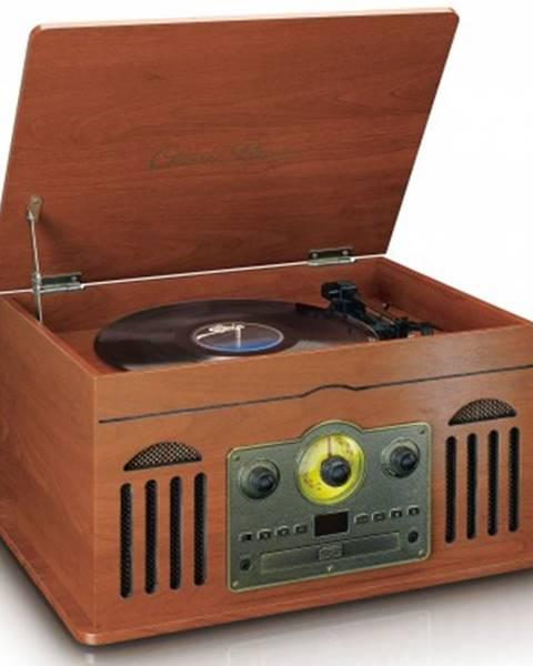 Lenco Radiopřijímač lenco tcd2600, hnědý