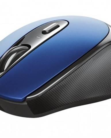 Bezdrátové myši bezdrátová myš trust zaya, modrá, dobíjecí