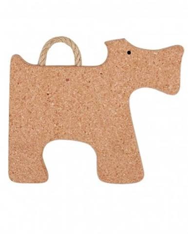 Podložka viking vg92136, tvar pes, korek