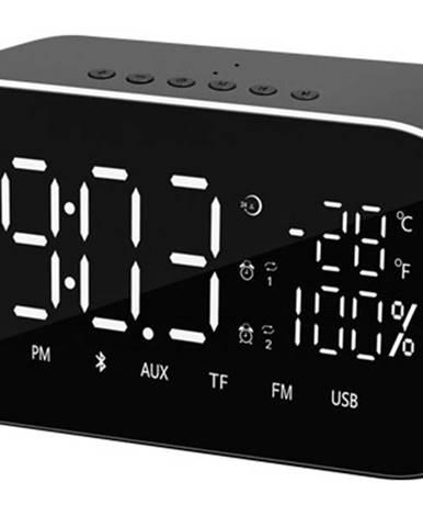 Radiopřijímač rádiobudík akai abts-s2 černý