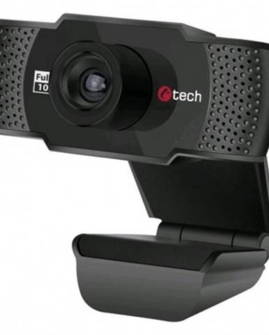 Webkamera webkamera c-tech cam-11fhd, 1080p, mikrofon, černá