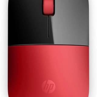 Bezdrátové myši hp z3700 wireless mo- cardinal red