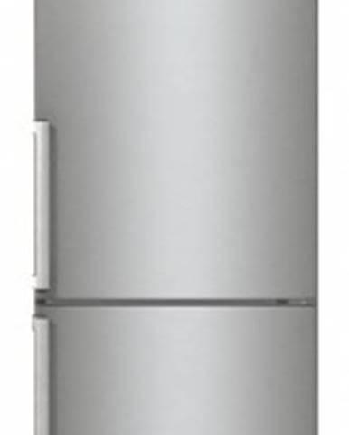 Kombinovaná lednice s mrazákem dole gorenje nrc6203sxl5