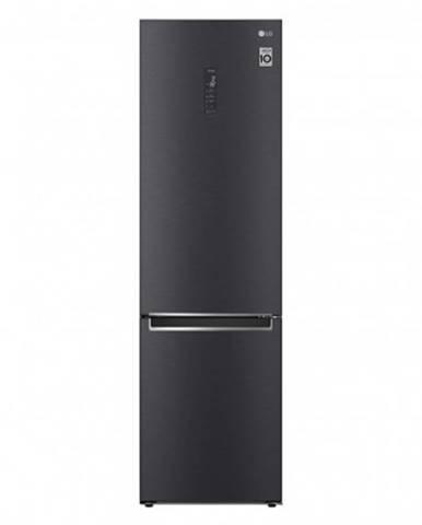 Kombinovaná lednice s mrazákem dole lg gbb72mcufn