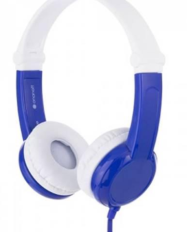 Sluchátka přes hlavu buddyphones connect modrá