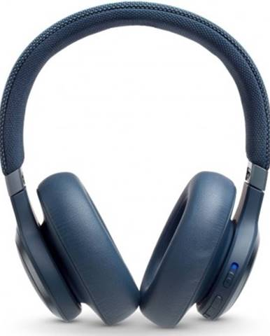 Sluchátka přes hlavu jbl live 650btnc,modrá obal poškozen