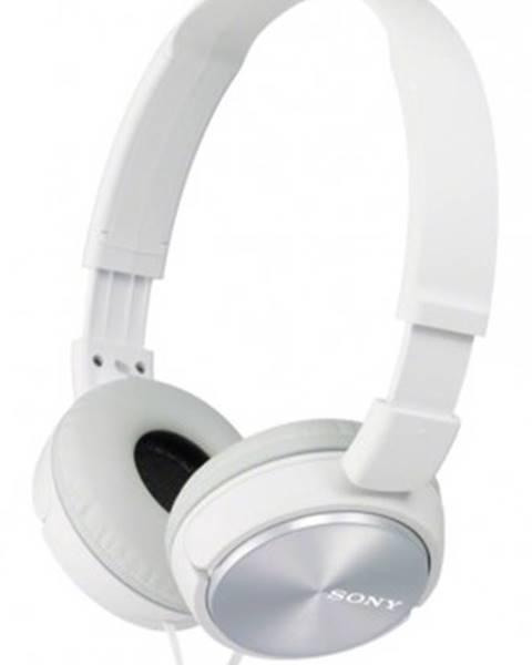 Sony Sluchátka přes hlavu sony mdr-zx310, bílá