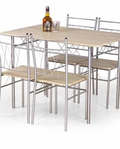 Jídelní set jídelní set faust - stůl + 4 židle