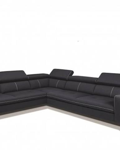 Rohová sedačka lexington levý roh šedá
