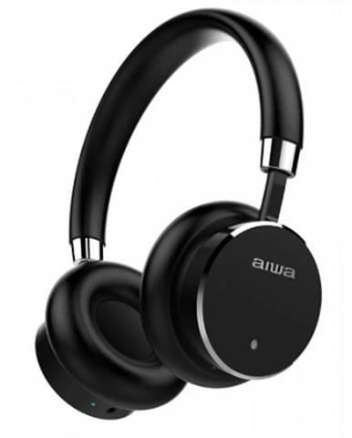 Sluchátka přes hlavu bezdrátová sluchátka aiwa hstbtn-800bk
