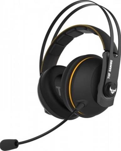 Sluchátka přes hlavu headset asus tuf gaming h7, bezdrátový, žlutý