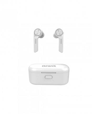 Špuntová sluchátka true wireless sluchátka aiwa esp-350wt