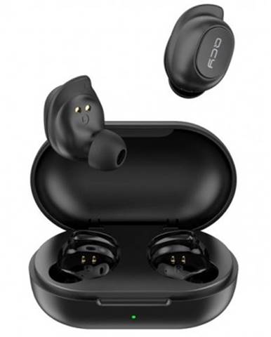 Špuntová sluchátka true wireless sluchátka qcy - t9 , černá