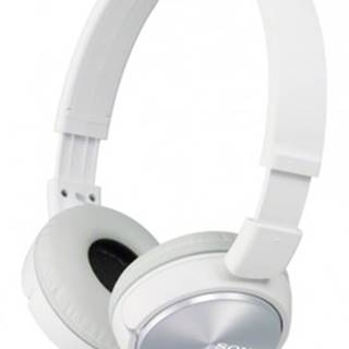 Sluchátka přes hlavu sony mdr-zx310, bílá
