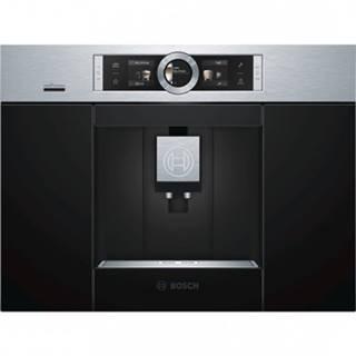 Vestavné espresso plně automatický vestavný kávovar bosch ctl636es6, 19 barů